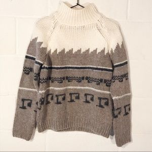 Zara Knit Turtleneck Sweater - Made In Italy
